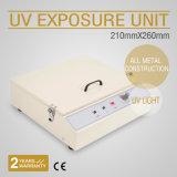 Unidade UV da exposição para o PWB quente da impressão da almofada da folha