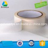 Cinta lateral doble barata del tejido del fabricante chino con pegamento solvente