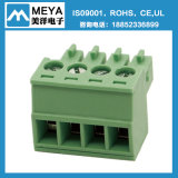Conetor Pluggable verde do bloco terminal (passo 3.5mm, 3.81mm, 5.0mm, 5.08mm, 7.5mm, 7.62mm)