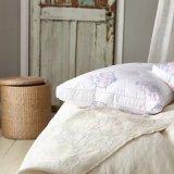 Venda por grosso Hotel Flor Jacquard travesseiro de Luxo