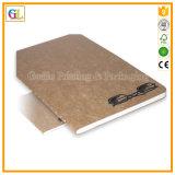 Impresión de encargo del cuaderno de los estudiantes de la cubierta suave en China