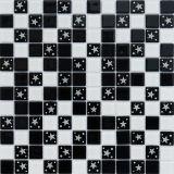 ガラスモザイク・タイルの花模様の装飾的な床タイル