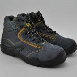 Laarzen Calzado Trabajo Ufa029 van de Veiligheid van de Besnoeiing van het Leer van het suède de Hogere Midden