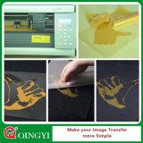 Precio de la fábrica de Qingyi el mejores y calidad de la película del traspaso térmico del brillo DIY para la ropa