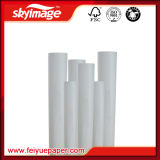 90Gramo 610mm*24pulgadas Alta Velocidad Anti-enroscamiento Papel de Transferencia de Sublimación de Calor para Impresora Industrial