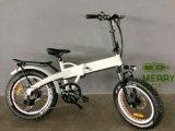 Спрятанный велосипед автошины батареи складной электрический тучный