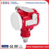 Transmissor de pressão de alta temperatura para o vapor