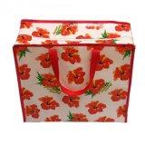 PP Lamintedのカスタマイズされたロゴの非編まれたショッピング・バッグ