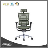 調節可能な新しい高い背部完全なクロムMachnisimeのオフィスの椅子着く