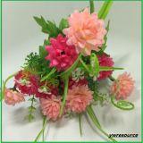 Fiori falsi del crisantemo dei fiori artificiali per i grossisti domestici della decorazione di cerimonia nuziale