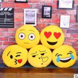 De hete Verkopende Comfortabele en Zachte Hoofdkussens van Emoji van de Pluche van de Douane