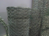 De hete ONDERDOMPELING Gegalvaniseerd /PVC bedekte het Hexagonale Opleveren van de Draad met een laag