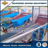 Maquinaria de minería de oro de alto rendimiento de la gravedad de la línea de procesamiento de oro