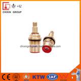 1/2 núcleo de la válvula de disco de cerámica con Brass Shell