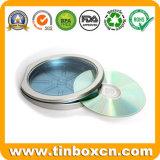De ronde CD Doos van het Tin voor CD van het Metaal Zak, CD van het Tin Geval