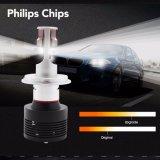 Peças de automóvel, farol super quente H1 H4 H7 H11 Phillips 30W 12V 24V 4200lm do diodo emissor de luz do branco do diodo emissor de luz