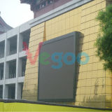 Visualizzazione di LED grande video Fullcolor di pubblicità esterna di HD P6