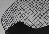 Het Dineren van de replica Kd Stoel van de Diamant van de Draad van het Kussen van de Zetel de Zwarte Pu