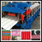 Colorear el rodillo circular del canal de la hoja de acero que forma la máquina