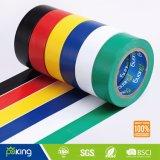 Fita de isolamento de PVC em cores para marcação de piso