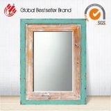 Arte di legno del blocco per grafici dello specchio della parete della nuova annata decorativa dei punti (LH-M170605)