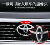 Visão noturna impermeável auto câmera escondida de opinião dianteira do veículo do carro para Toyota
