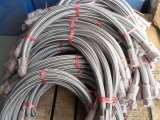 Atornillado Fuelle de acero inoxidable de la manguera flexible de metal Conjunto (304 316)