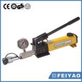 Bomba de mão hidráulica com a bomba de mão hidráulica de pouco peso do calibre para ferramentas hidráulicas