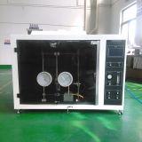 Probador ardiente horizontal y vertical del material plástico UL94