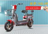 Bikeの子供のシートが付いているスマートな電気バイクグループの使用の電気女性
