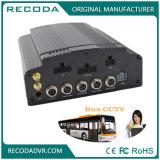 4G GPS WiFi 4CH Dubbele SD+ HDD Mobiele DVR met de Opname van de Veiligheid 1080P voor de Vrachtwagen van de Auto van de Bus van het Voertuig