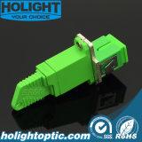 Hybride Adapter E2000A aan Simplex Singlemode Groen Sca