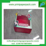 Vente en gros faite sur commande de caisse d'emballage de gâteau avec le cadre de papier de cadeau clair de guichet