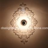 2017 Современное прозрачным акриловым настенный светильник для использования внутри помещений декор Освещение
