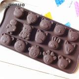 Silikon-Kuchen-Brot-Schokolade für Gelee-Süßigkeit-Backen-Form-Fertigkeit-Form