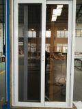 Fabrik-Verkaufs-schiebendes Glas-Aluminiumtür mit Edelstahl-Netz/Ineinander greifen