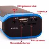 2016의 신제품 4000 mAh Bluetooth 스피커를 가진 무선 다중 기능적인 힘 은행