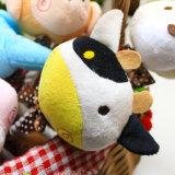 Árbol de Navidad muñeco de nieve de felpa de algodón Robe sonando juguetes para mascotas