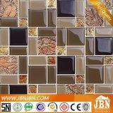 Стеклянные стены ванной комнаты кафелем Cyrstal мозаики (M855010)