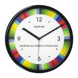Reloj de pared al por mayor promocional decorativo colorido vendedor caliente