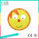 Round Wooden Play Silme Board na parede