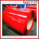 La bobine en acier de PPGI/couleur laminée à chaud a enduit la bobine en acier galvanisée