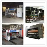 自動波形のボール紙の印刷および型抜き機械