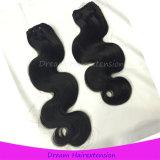 Karosserien-Wellen-Jungfrau-Haar des Großverkauf-100% nicht aufbereitetes malaysisches
