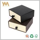 Rectángulo de empaquetado del regalo del cajón con la impresión modificada para requisitos particulares
