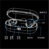 Mini véritables écouteurs sans fil Bluetooth sec Earbuds