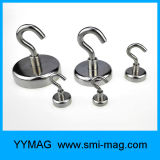 Hochleistungsmagnet-Neodym-magnetische Haken für Verkauf