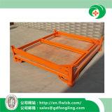 Rack de empilhamento de dobragem para o depósito de armazenagem com marcação CE