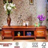 Unità del basamento del Governo della televisione della mobilia di legno dello spazio di risparmio piccola (GSP15-016)