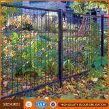 Frontière de sécurité soudée Curvy encadrée de jardin de treillis métallique